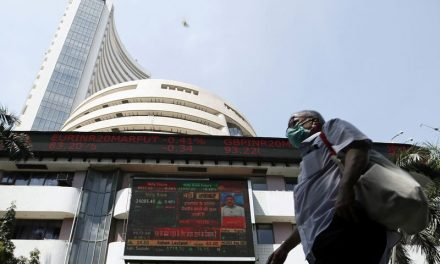 India stocks lower at close of trade; Nifty 50 down 2.04%