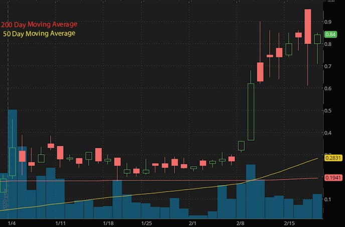 best penny stocks to watch list ISW Holdings Inc. ISWH stock chart