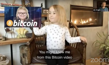 Three-year-old Bitcoin educator speaks at crypto conference