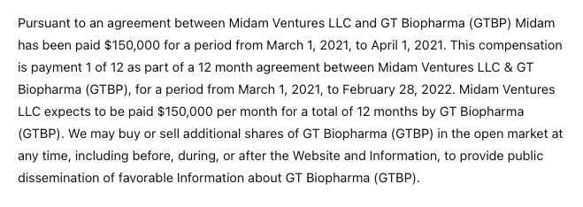 GT Biopharma Announces Enrollment Of Patient 10 in GTB-3550 TriKE™ Phase I/II Clinical Trial