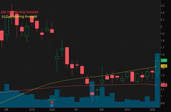 NFT penny stocks to watch right now Cinedigm Corp. CIDM stock chart