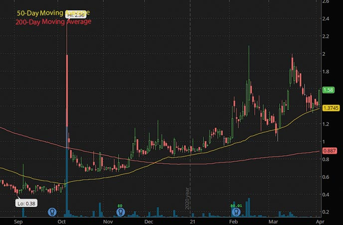 top penny stocks to watch Rave Restaurant Group Inc. RAVE stock chart