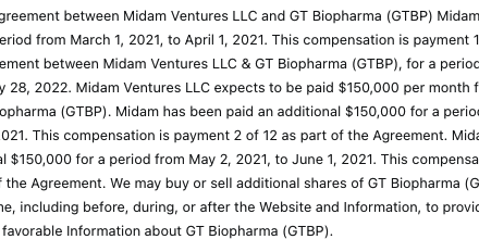 GT Biopharma Announces Update On The Commencement Of The GTB-3550 TriKE™ Monotherapy Phase 2 Clinical Trial And Solid Tumor TriKE™ Product Candidates